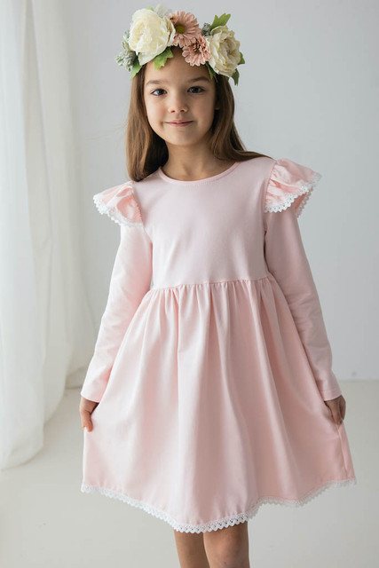 niesamowita sukienka dla dziewczynki